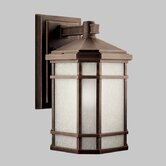 Cameron 150W  Outdoor Wall Lantern in Prairie Rock