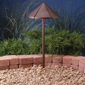 Center Mount Textured Architectural Bronze Finish Landscape Path Light