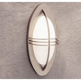 Centennial  Outdoor Wall Sconce in Brushed Nickel