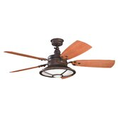 "52"" Harbour Walk 5 Blade Patio Ceiling Fan"