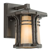 North Creek  Wall Lantern in Olde Bronze
