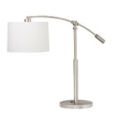 Westwood One Light Cantilever Table Lamp in Brushed Nickel