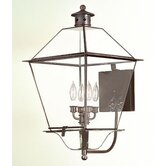 "Montgomery 25.75"" x 14.25""  Wall Lantern with Clear Glass"
