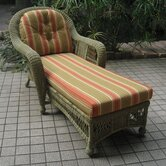 Montego Chaise Lounge with Cushions