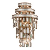 Dolcetti Three Light Wall Sconce in Silver