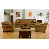 Houston Sofa Bed 3 pc. Living Room Set