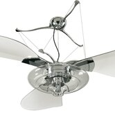 "58"" Jellyfish 3 Blade Ceiling Fan"