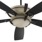 52&quot; Mendocino 5 Blade Ceiling Fan with Remote