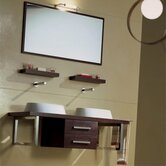 "Brio 47.2"" Wall Mounted Bathroom Vanity"