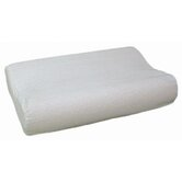 Radial Cut Memory Foam Pillow