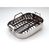 Stainless Petite Roasting Pan with Rack