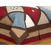 All Star Sports Collection Queen Bed Skirt