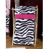 Zebra Pink Collection Laundry Hamper
