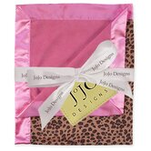 Cheetah Pink Baby Blanket