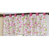 Circles Pink Collection Window Valance