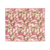 Camo Pink Collection Floor Rug