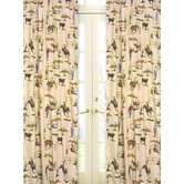 Wild West Cowboy Collection Window Panels  - Cowboy Print