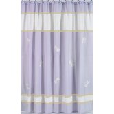 Purple Dragonfly Dreams Shower Curtain