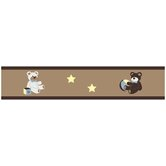 Teddy Bear Chocolate Wallpaper Border