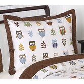 Owl Collection Standard Pillow Sham