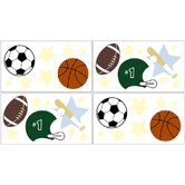 Play Ball Sports Collection Wall Decal Stickers