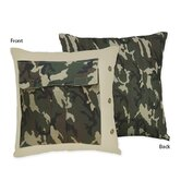 Camo Green Collection Decorative Pillow