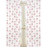 Elephant Pink Collection Window Panels  - Elephant Print