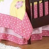 Song Bird Collection Toddler Bed Skirt