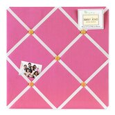 Butterfly Pink and Orange Fabric Memo Board