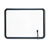 Contour Dry-Erase Board in White with Gray Frame 24&quot; W x 18&quot; D
