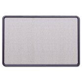 "Contour Fabric Bulletin Board, 36"" Wide"