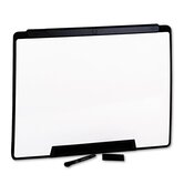 "Motion Portable Dry-Erase Board in White with Black Frame 24"" W x 18"" H"
