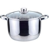 Essential Taper Shape 24cm Stockpot with Lid
