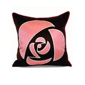 Rose Silk Pillow Cover