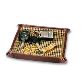 Men's Leather Goods Folding Snap Dressing Tray