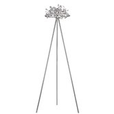 Five Light Floor Lamp in Polished Chrome