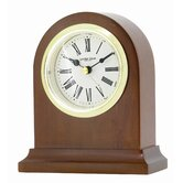 Arch Top Mantle Clock with Classic Roman Dial