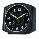 Square Case Radio Controlled Alarm Clock