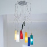 Stilo Six Light Up And Down Pendant