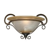 Meridian  Wall Sconce in Golden Bronze