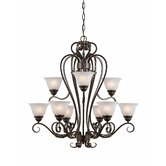 Monte Carlo 9 Light Chandelier