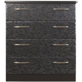 Nelson Standard Chest of 4 Drawers