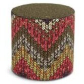 Macro Knit Nancho Pouf Ottoman