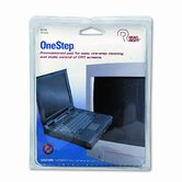 Read Right Onestep Crt Screen Cleaning Pads, 5 X 5, Cloth, 100/Box