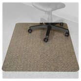 Recyclear Chairmats for Carpets, 46 X 60, No Lip