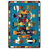 Just for Kids Kid Essentials VIP Welcome in Many Languages Kids Rug