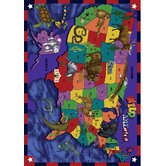 Just for Kids Kid Essentials Wild America Kids Rug