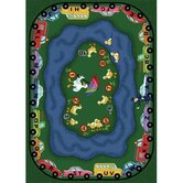 Educational Puddle Ducks Kids Rug