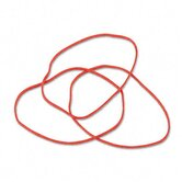 Latex-Free Orange Rubber Bands, Size 19, 3-1/2 X 1/16, 1750/Box