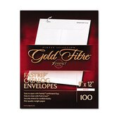 Gold Fibre Fastrip Security Catalog Envelope in White (Box of 100)